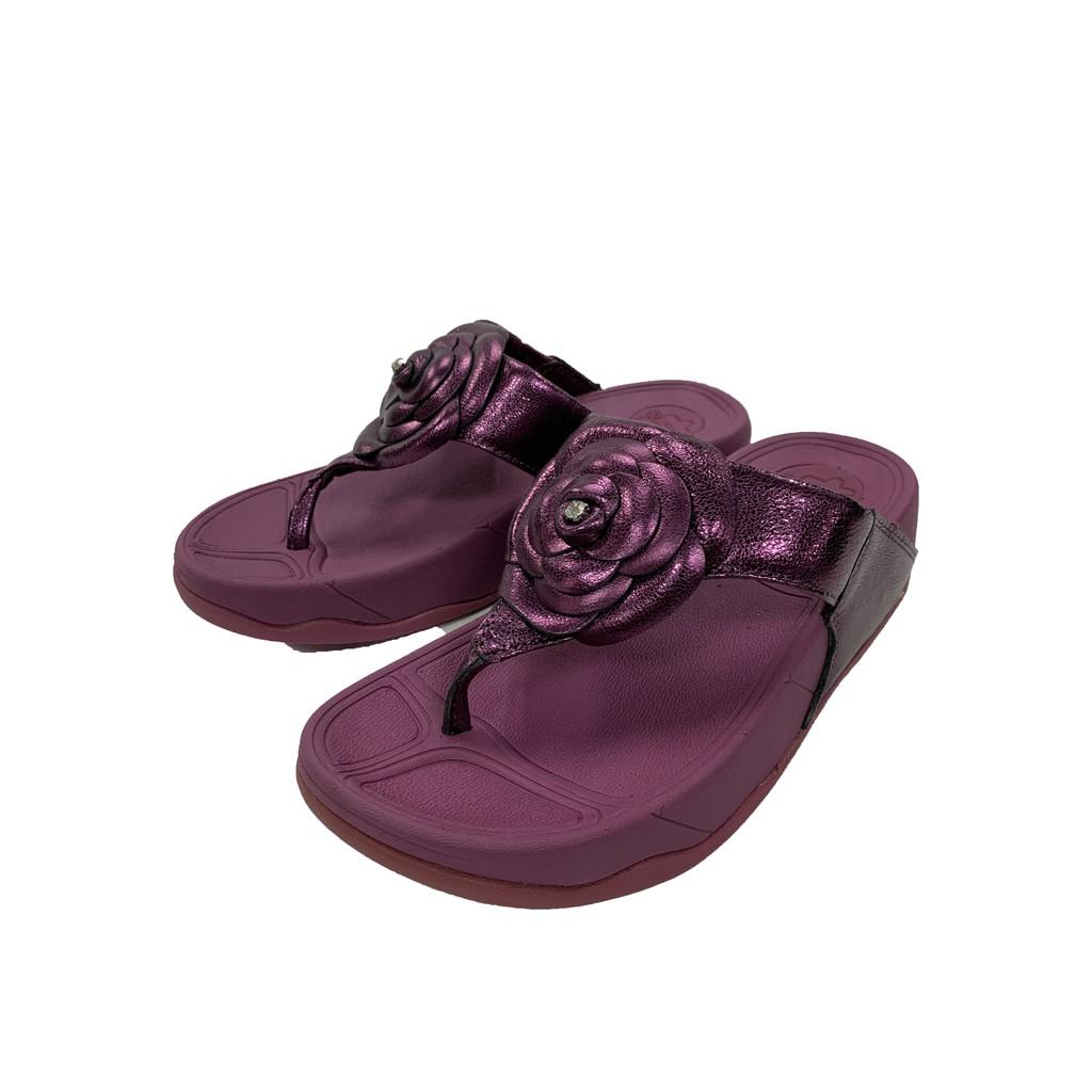 [現貨出清] six.ten 拖鞋 夾腳拖鞋 休閒拖鞋 平底涼拖鞋 女款 媽媽熱銷款 - 玫瑰 / 紫色