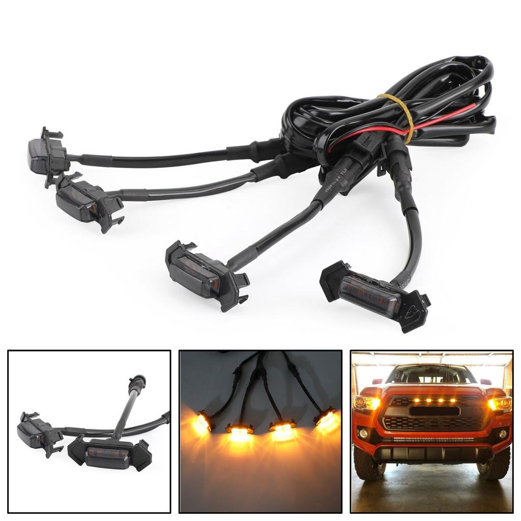 Areyourshop 水箱護罩用LED燈組適用於Toyota Tacoma TRD Pro 201