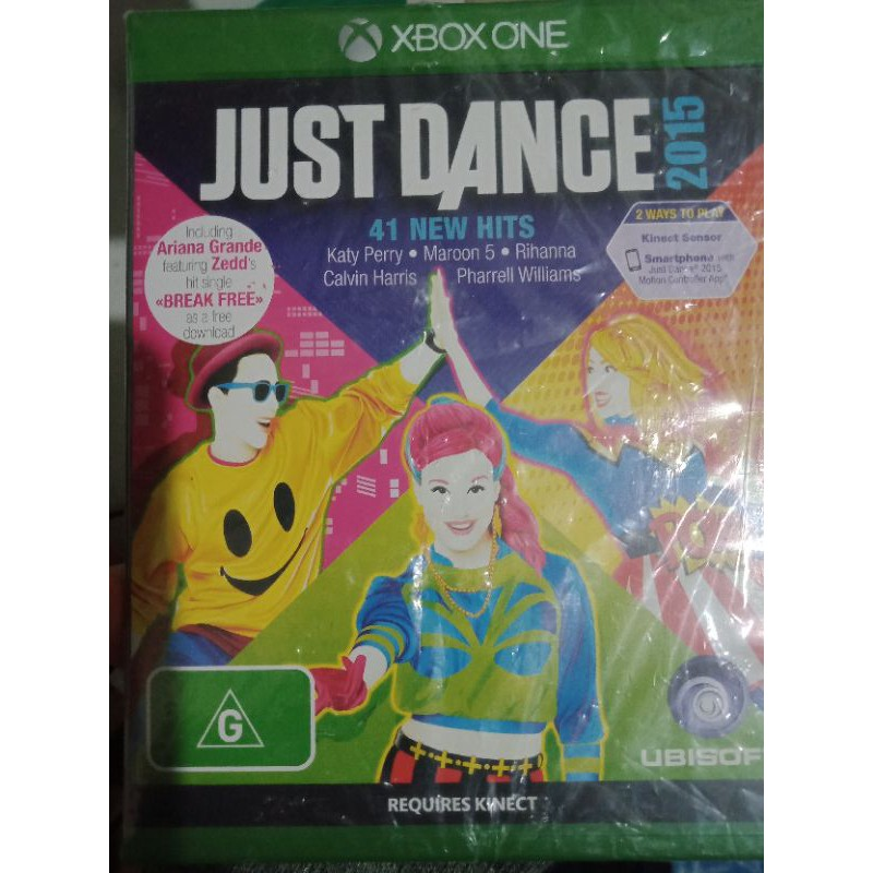 Xbox  one Kinect just dance 2015