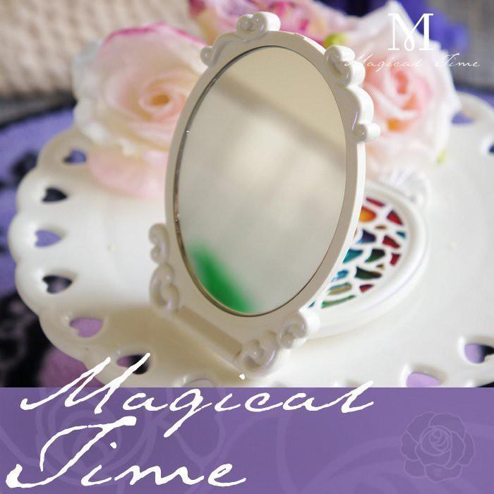 【∮魔法時光∮】ANNA SUI 安娜蘇 白色 薔薇魔鏡 (珍珠白) 巴洛克/馬賽克華麗風格 別出心裁設計 最後兩個