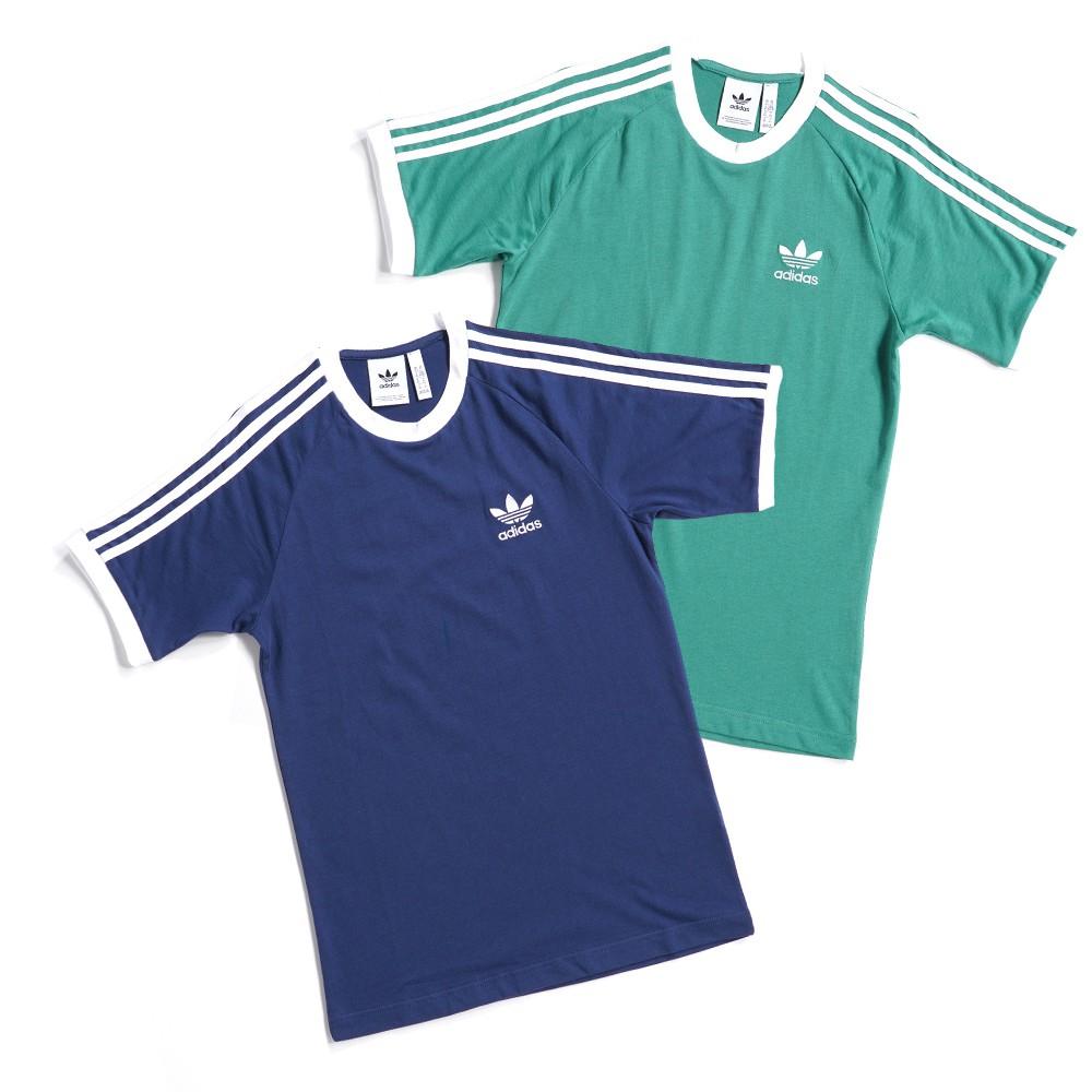 ADIDAS ORIGINALS 3-STRIPES TEE 男款 運動 休閒 滾邊 短袖上衣 T恤 FM3771/72