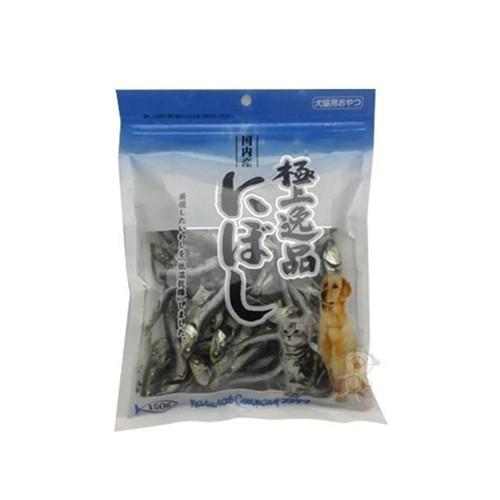 日本零食《極上逸品珍味魚乾》150克-沙丁魚『WANG』