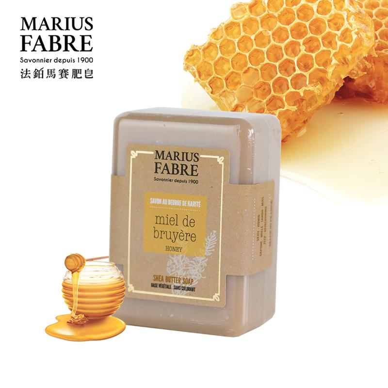 【法鉑Marius Fabre】蜂蜜乳油木草本皂/150g