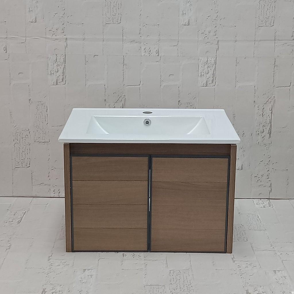 MINGJIE 太空鋁浴櫃/仿木紋
