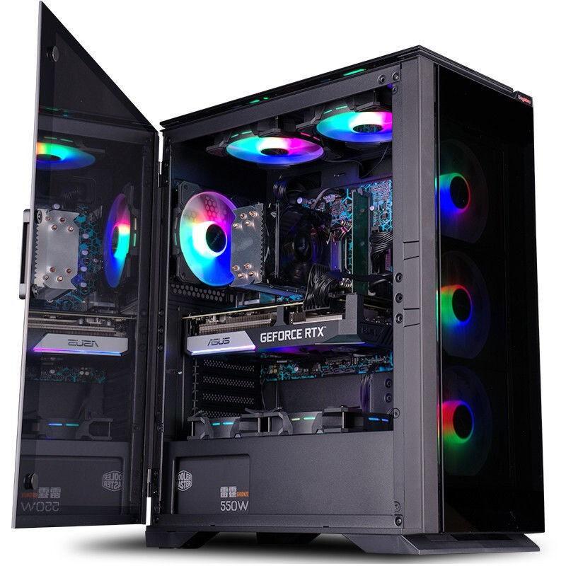 i7 10700KF/RTX 3060 12G高配電競游戲電腦主機直播臺式組裝機、