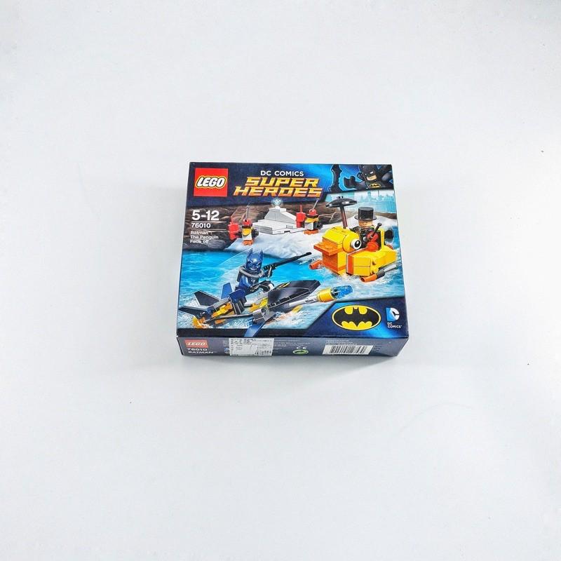 ( W.W. ) Lego 樂高 76010 蝙蝠俠對決企鵝人