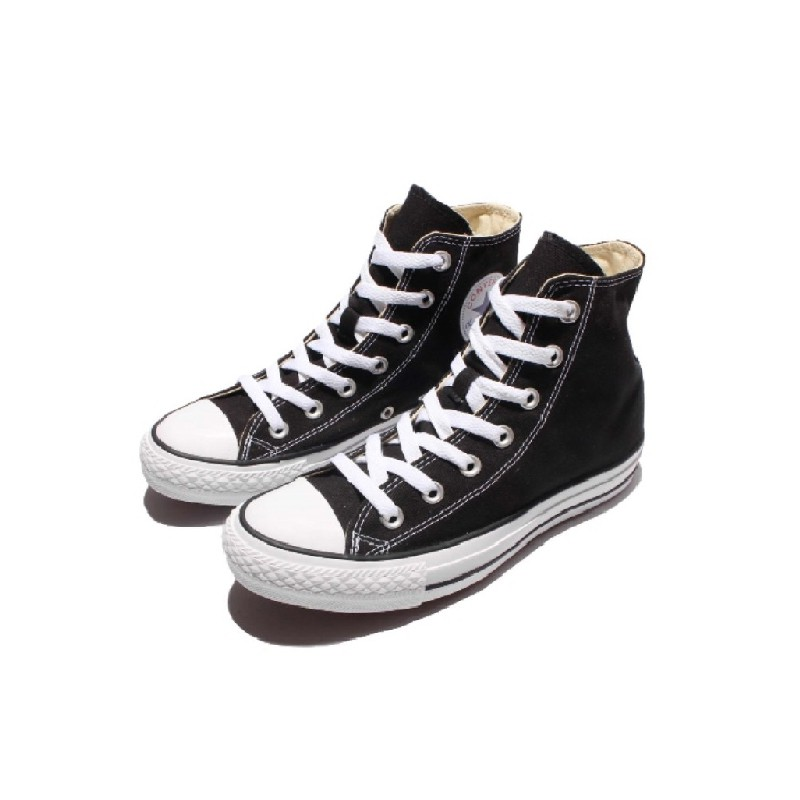 CONVERSE-男女高筒休閒鞋.帆布鞋-M9160C-黑色 Chuck Taylor All Star 基本款