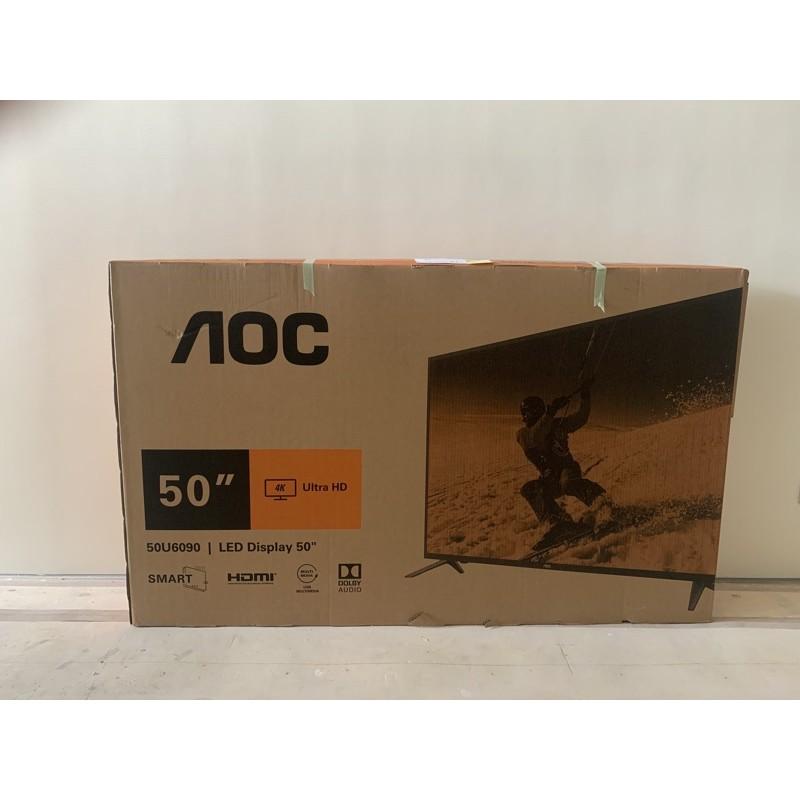 AOC 50U6090 50型 4K HDR 聯網液晶顯示器