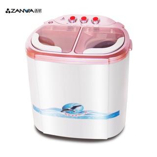 ZANWA晶華 2.5KG節能雙槽洗滌機/ 雙槽洗衣機/ 小洗衣機/ 洗衣機ZW-218S 廠商直送 桃園市