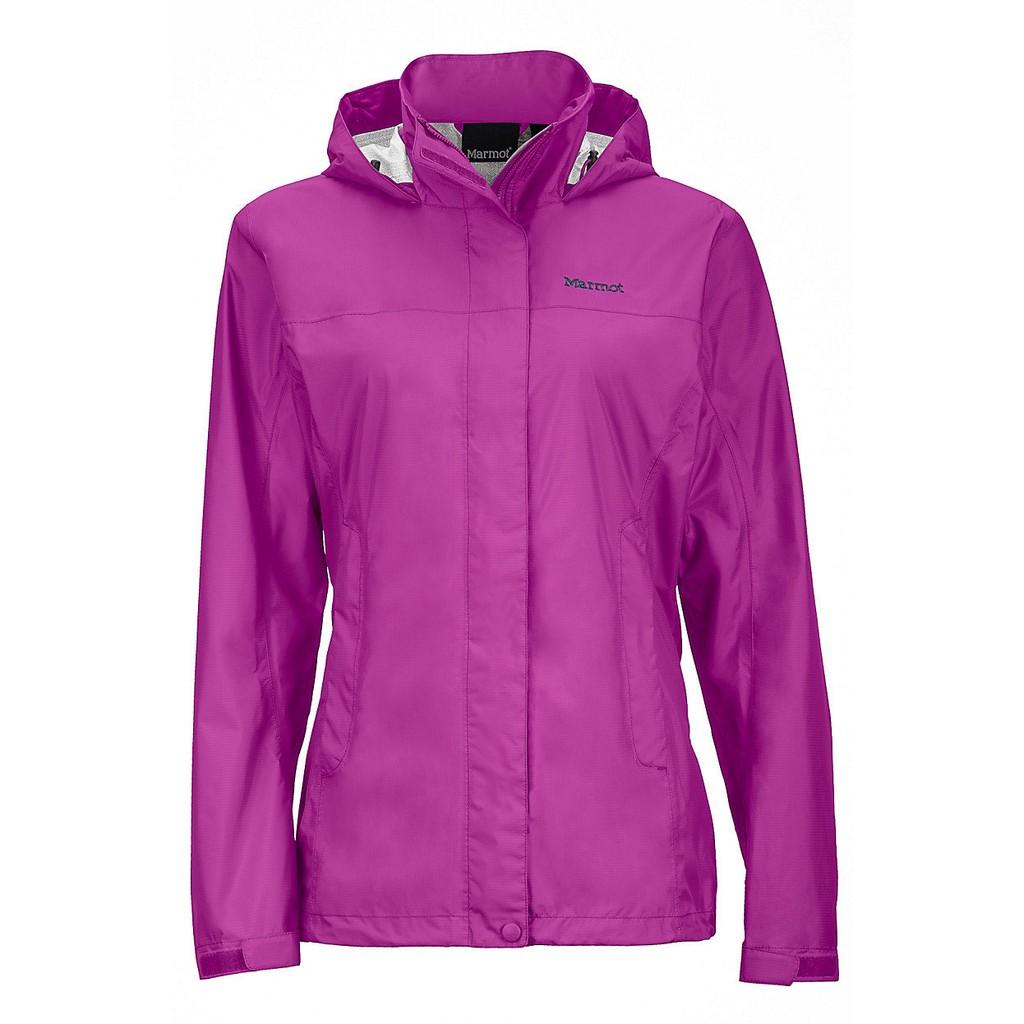 【Marmot】46200-9450 紫紅 美國 女 PreCip 土撥鼠 防水外套