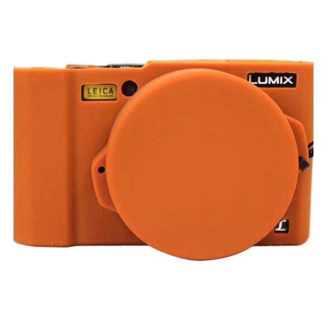 優質賣場台灣&出貨批發適用panasonic/松下lx10相機包 DMC-LX10硅膠相機保護套