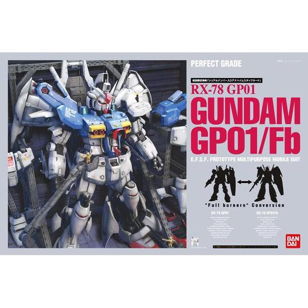 【模型屋】BANDAI 鋼彈 PG 1/60 RX-78 GP-01 GUNDAM GP01/FB 試作1號機