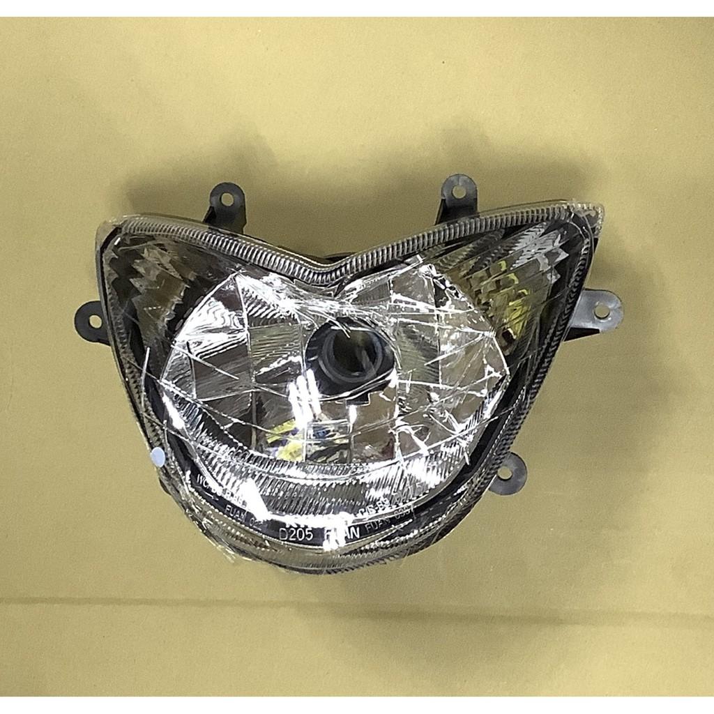 光陽GP125 化版/噴射 V2 大燈 前燈殼組 H4 /無小燈版本 金牌噴射 KYMCO【原廠零件】