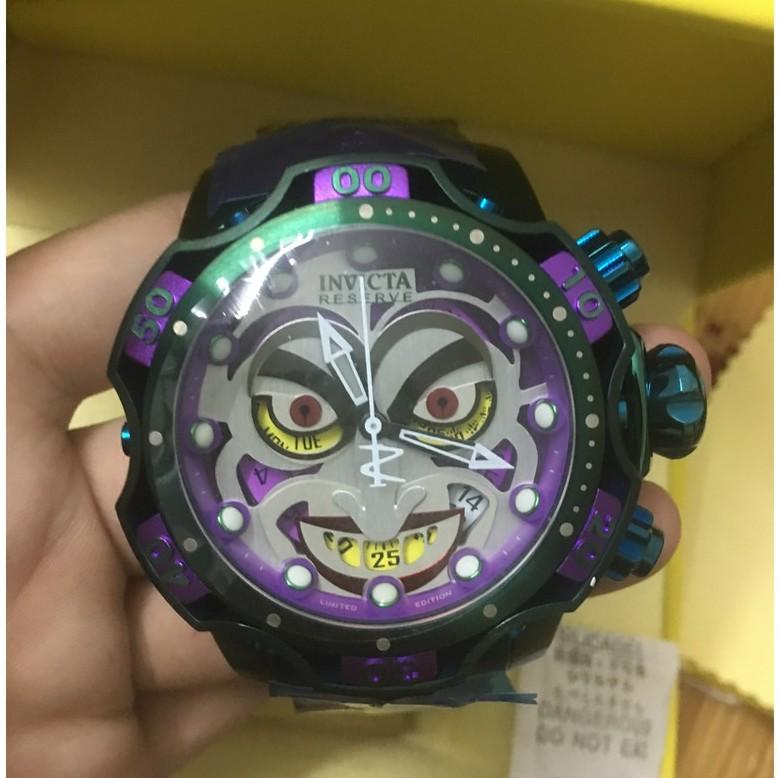 【品牌代購】高品質 實物拍攝 INVICTA 英威塔 30124 DC聯名Joker 小丑經典鋼帶款