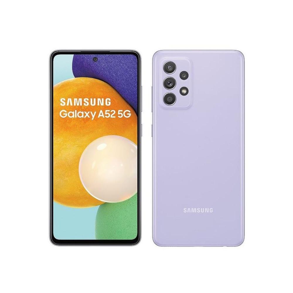 三星 Galaxy A52 5G(8G256G)-紫色實展機-保固至2022年0331