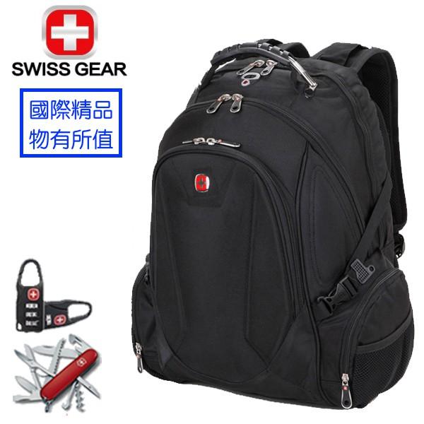 SWISSGEAR 瑞士 軍刀 防水 背包 出國 旅遊 電腦包 筆電包 登山 登山包 旅行 商務 後背包 雙肩包 筆電