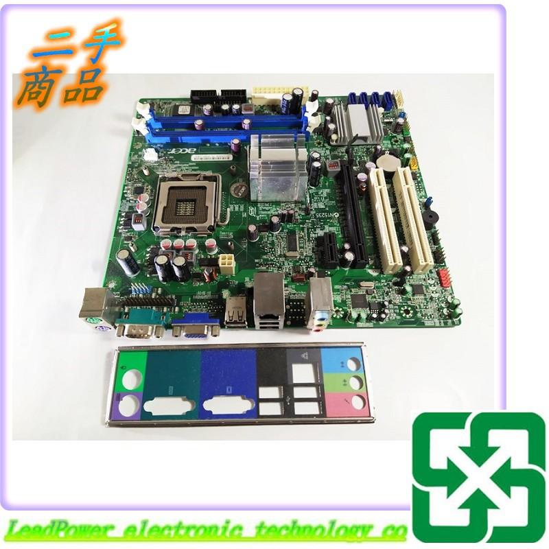 【力寶3C】主機板 Acer G41M07 G41M07-1.0-6KSH M275 775 /編號941