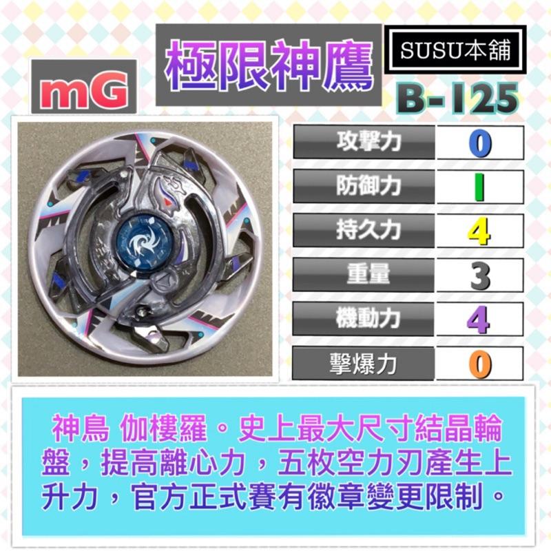 【Susu本舖】戰鬥陀螺 爆裂世代 極限神鷹 結晶輪盤 拆售系列 未含鋼鐵輪盤、軸心 B125 04