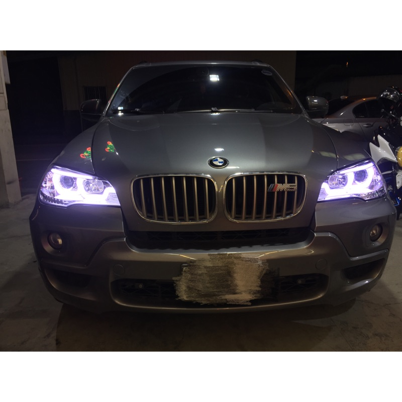 BMW X5 E70 導光 大燈組 X5 E70 導光 大燈組  限量一組特價15000到108/6底唷