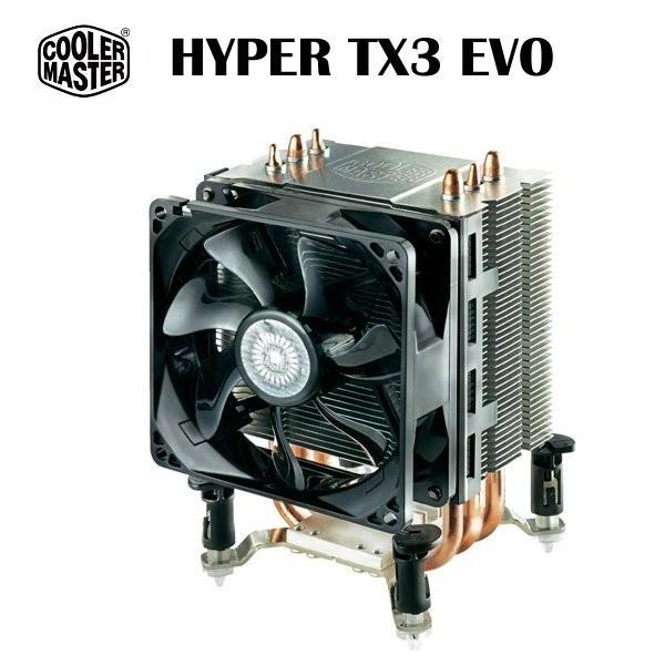 【3C小苑】免運 酷媽 Cooler Master Hyper TX3 EVO 熱導管散熱器/CPU散熱器/超靜音散熱器