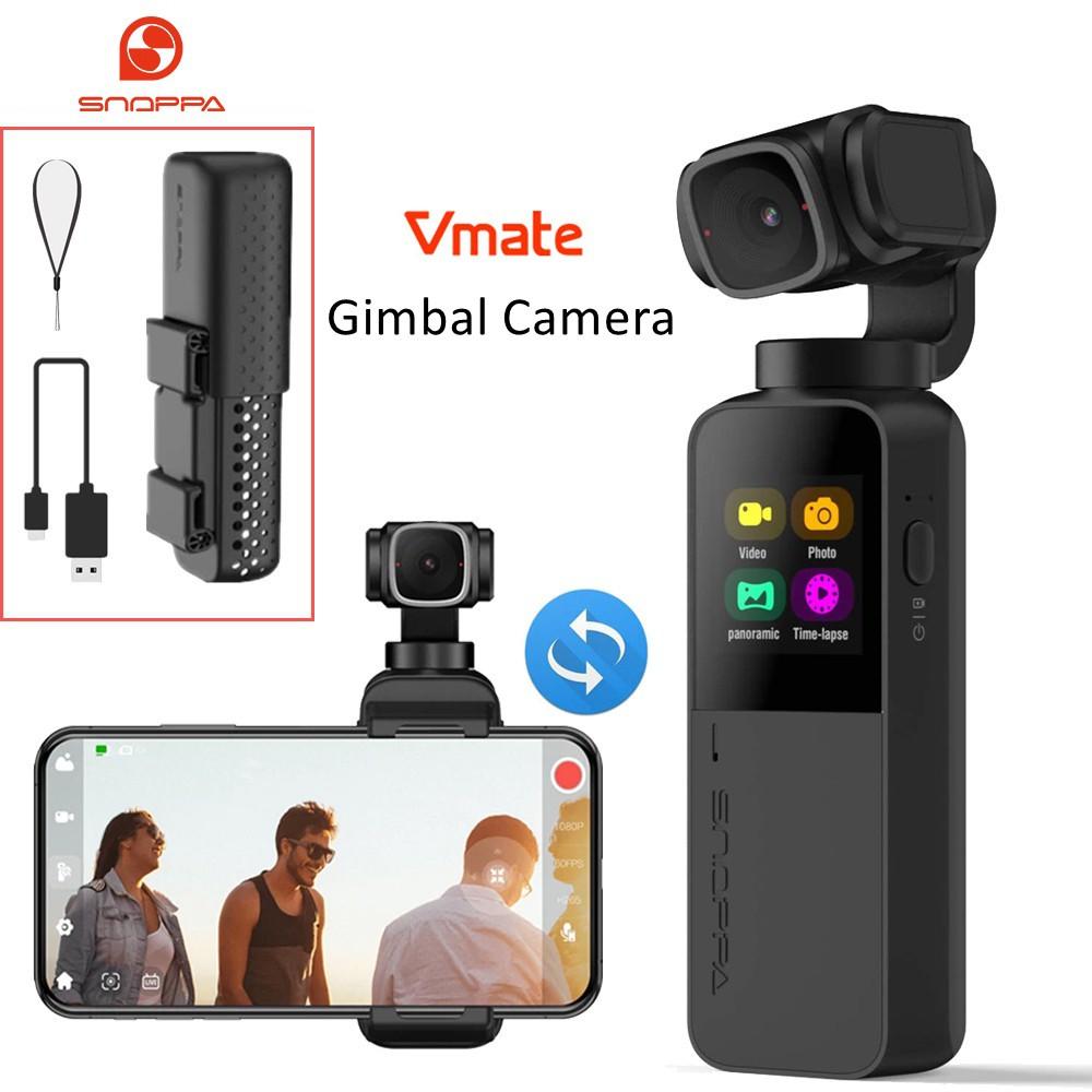 關注送券隨拍 Snoppa vmate 口袋雲臺相機 掌上三軸防抖Vlog攝像機 手持雲臺 直播XIAN
