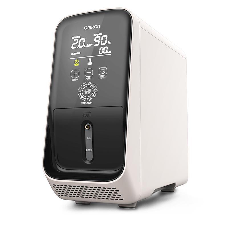 【爆款 正品】Omron歐姆龍 制氧機 家用HAO-2200便攜式 醫用制氧機 吸氧機老人孕婦 【免運】