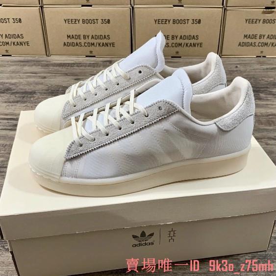 Eason x adidas originals Superstar 白色 休閒板鞋  FX8116
