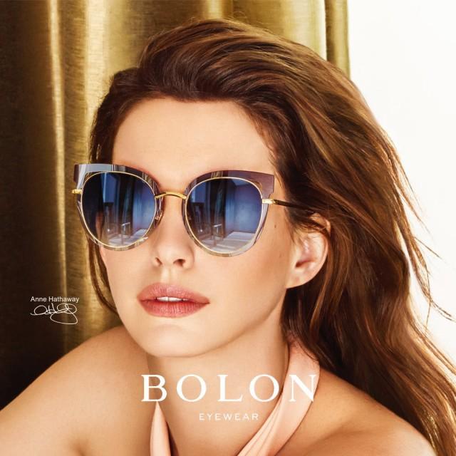 【BOLON 暴龍】貓眼造型大圓框太陽眼鏡 明星代言款 BL7013