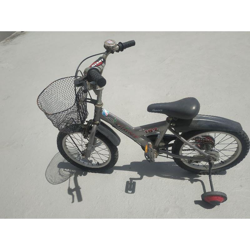 (自取)二手捷安特兒童自行車(16吋)