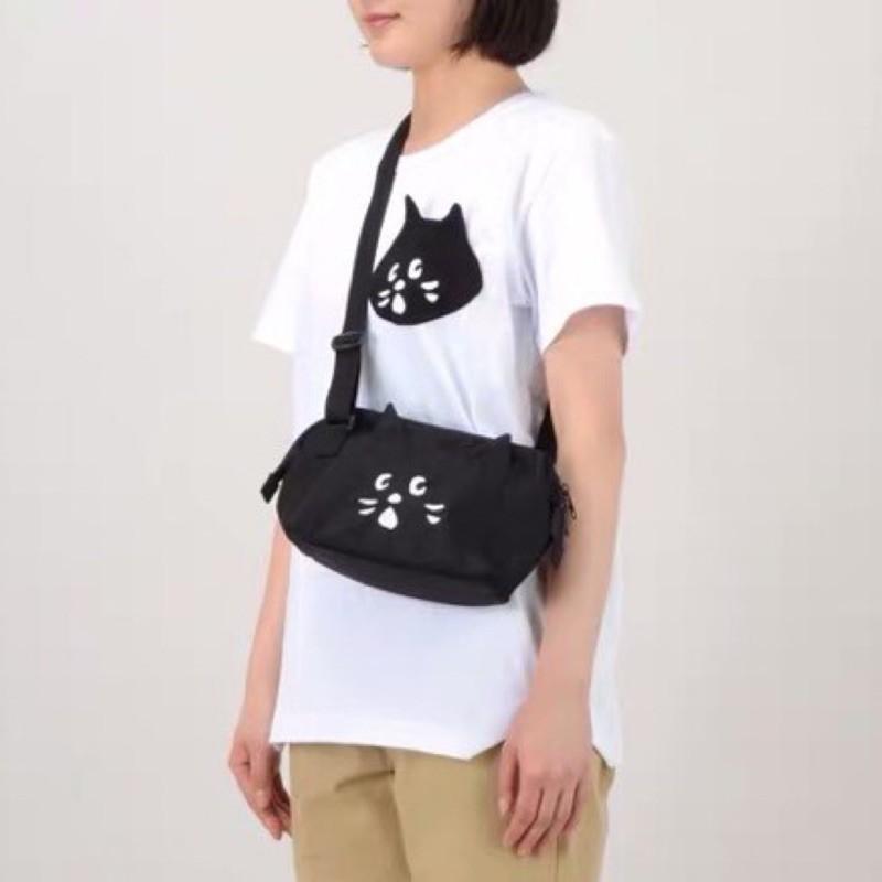 Nya 驚訝貓 側背包 me net nenet 斜背包 拉鍊包