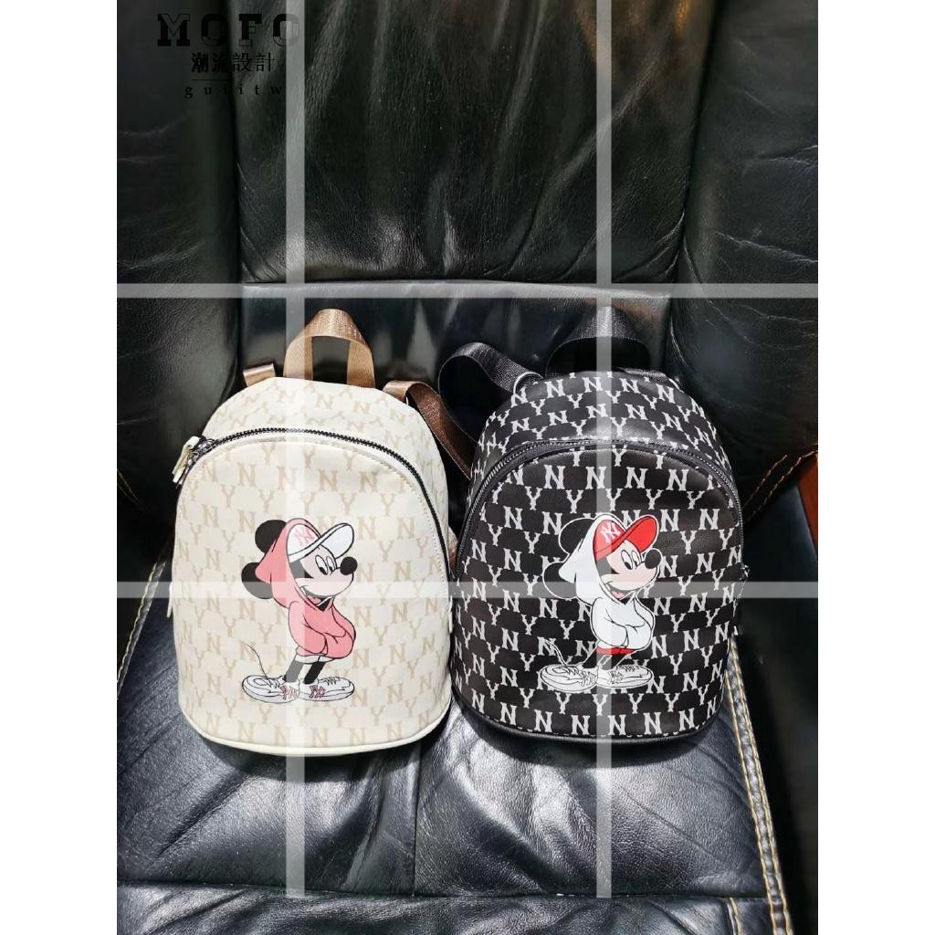 MLB x 米奇 款 腰包 後背包 米奇 洋基 NY 韓國代購 小背包 小後背包 小雙肩包 女生背包 雙肩包 特賣