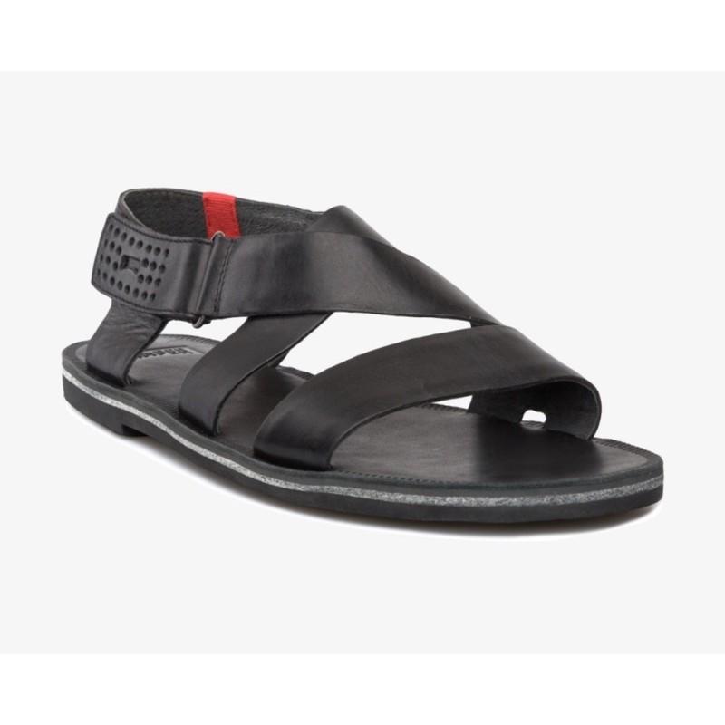 專櫃camper正品 男皮質涼鞋