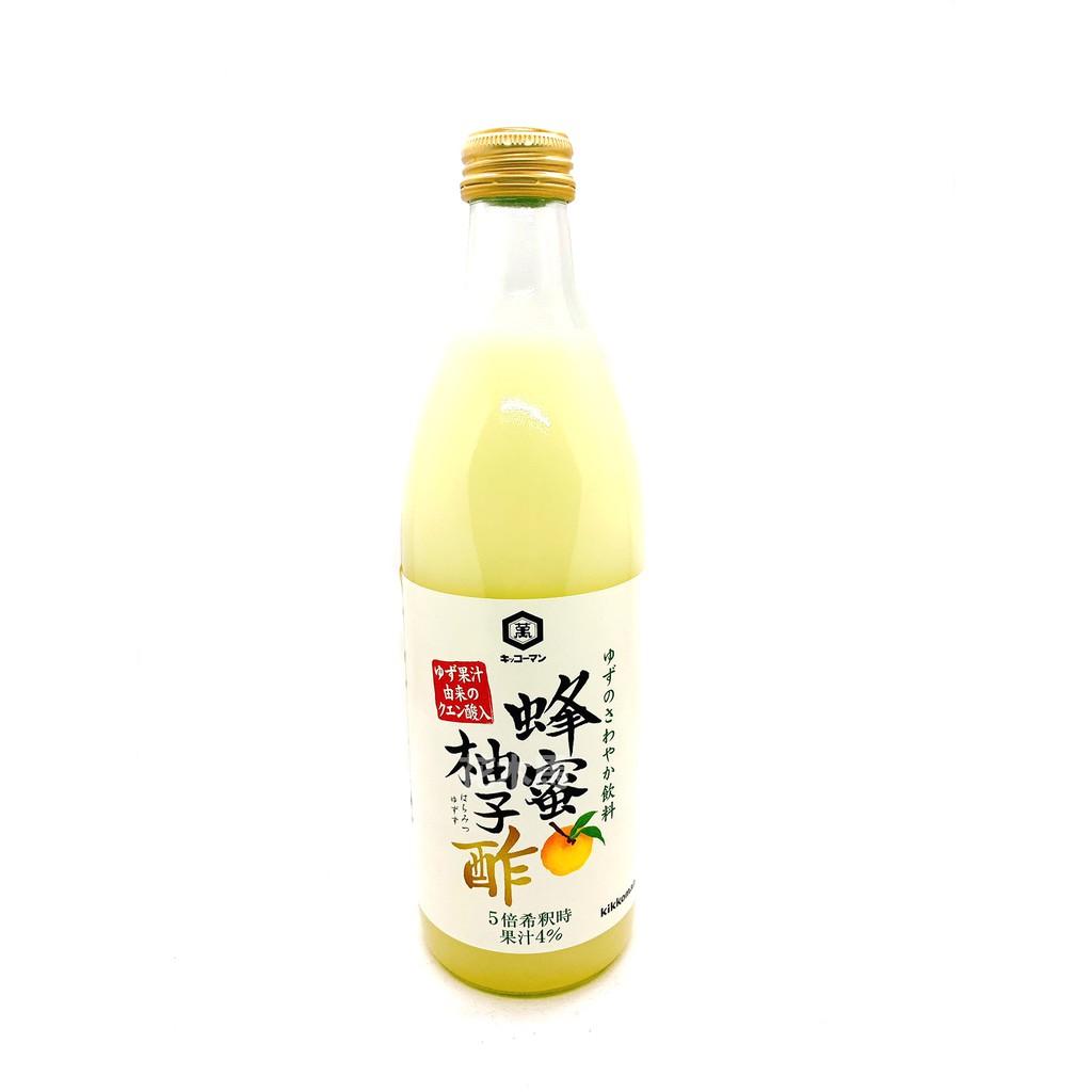 日本龜甲萬蜂蜜柚子醋 500ml/罐