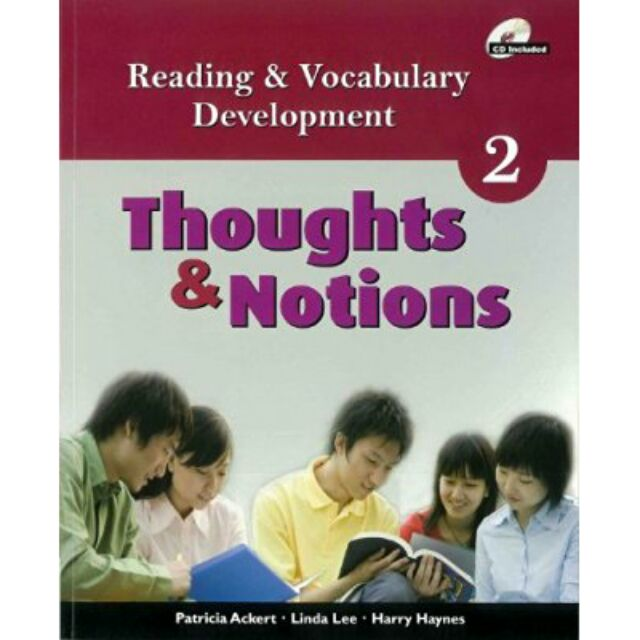 Reading and vocabulary development thoughts & notions 2