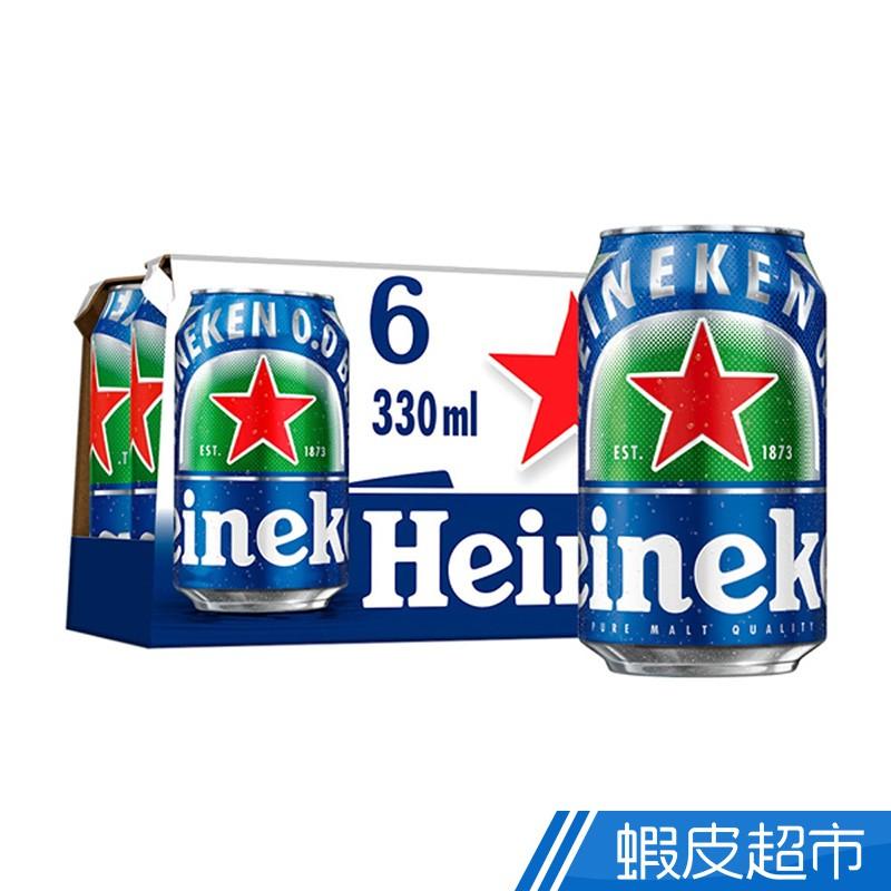 海尼根 0.0零酒精 罐裝 330ml 6入 廠商直送(品牌聯慶 贈品)