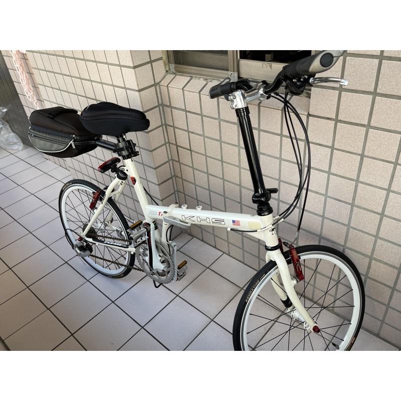 KHS-F20-T2折疊車 功學社小折自行車
