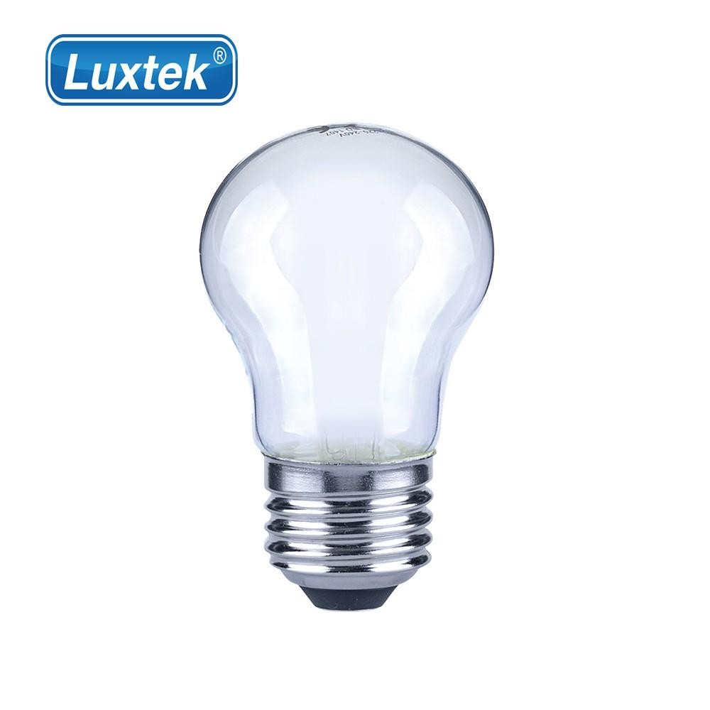 Luxtek 樂施達 Led 霧面 小球型燈泡 4W E27 黃光