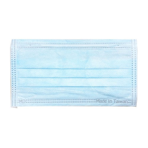 富璟 平面醫用成人口罩(未滅菌)-藍色(50入/盒裝)(衛生用品,恕不退貨,無法接受者勿下單)
