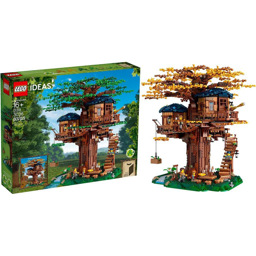 [LALAGO] LEGO 21318 樹屋