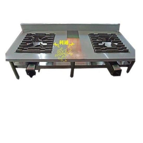 《利通餐飲設備》雙口平口爐 雙口高湯爐 雙口炒台 可當各式爐具