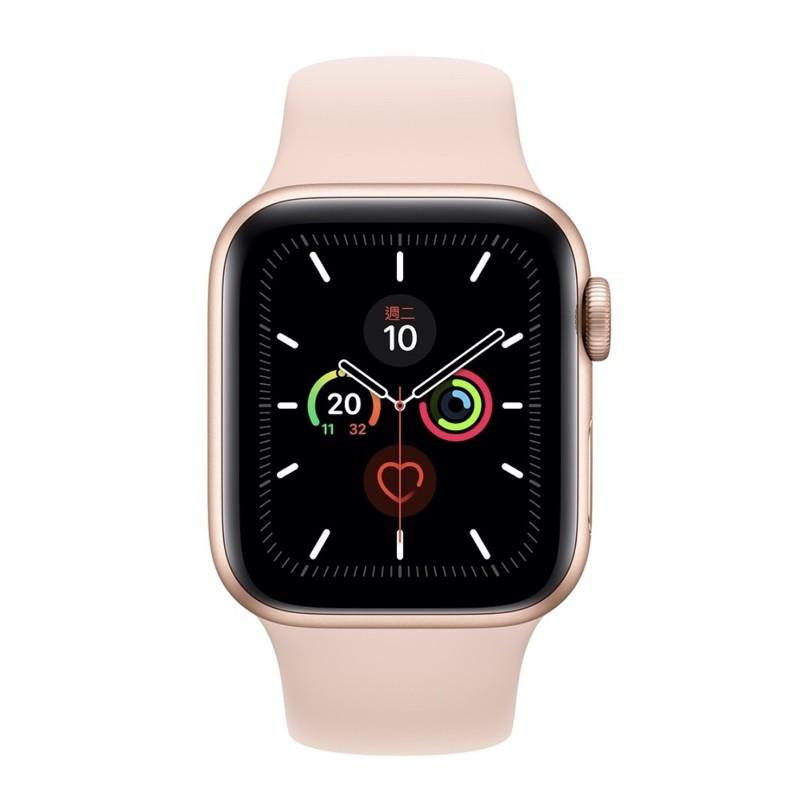 二手殺價不回覆Apple Watch 5(GPS) 40mm金色鋁金屬錶殼