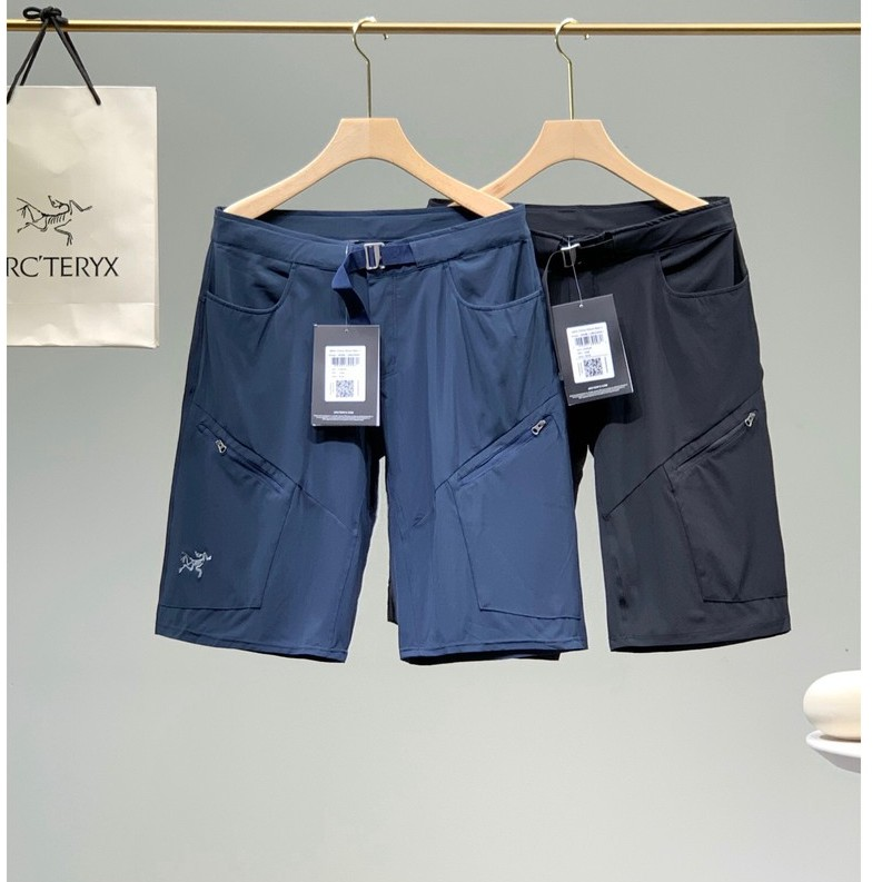 21ss新款Arcteryx Incendo Long 始祖鳥男款速幹運動短褲 男士休閒五分褲