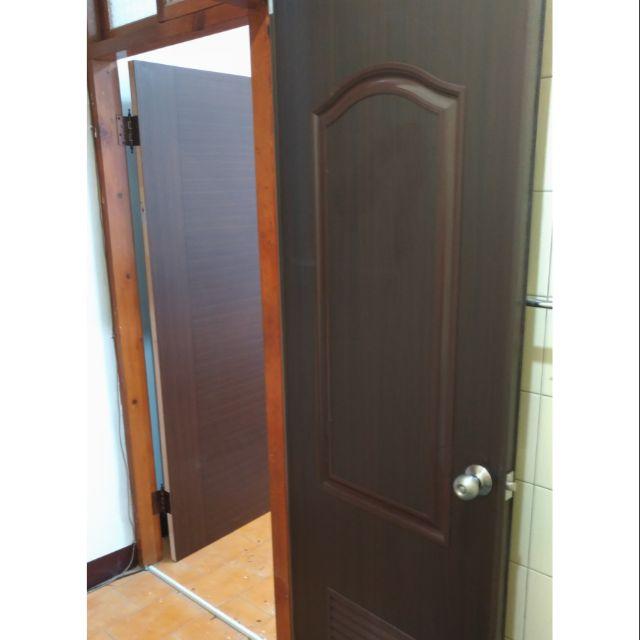@李師父@ 台北市 新北市 專業施工 浴室 胡桃色 塑鋼門 連工帶料 含安裝 3500元