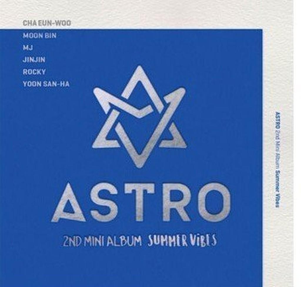 正版預購-ASTRO 親筆簽名 專輯 迷你2輯 SUMMER VIBES CD+寫真