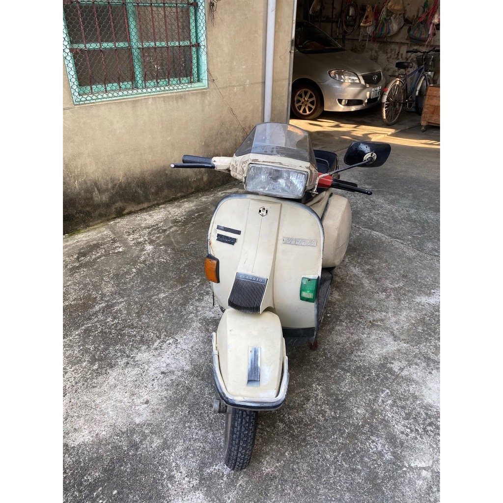 9/12更新)可議價 VESPA 偉士牌 PX150E 古董 機車 收藏 摩托車 二手 可騎 已撤牌 150cc
