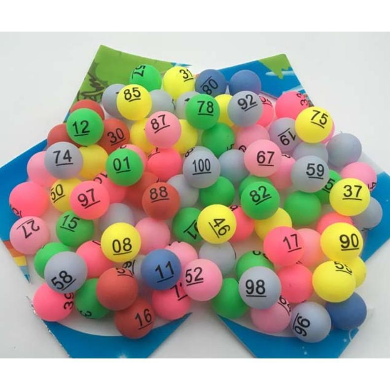 Y532-50 {現貨}1-50號尾牙抽獎數字球 數字乒乓球 抽獎數字球 抽獎球 賓果球 開獎球 號碼球 數字球 尾牙