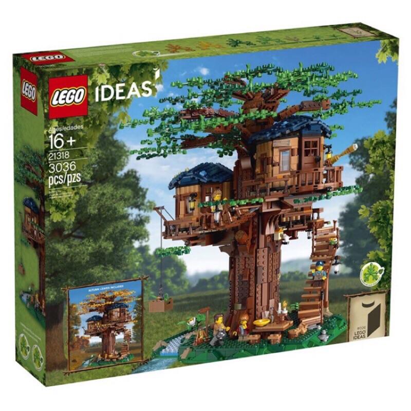 限面交 二手 LEGO 樂高 21318 IDEAS系列 樹屋