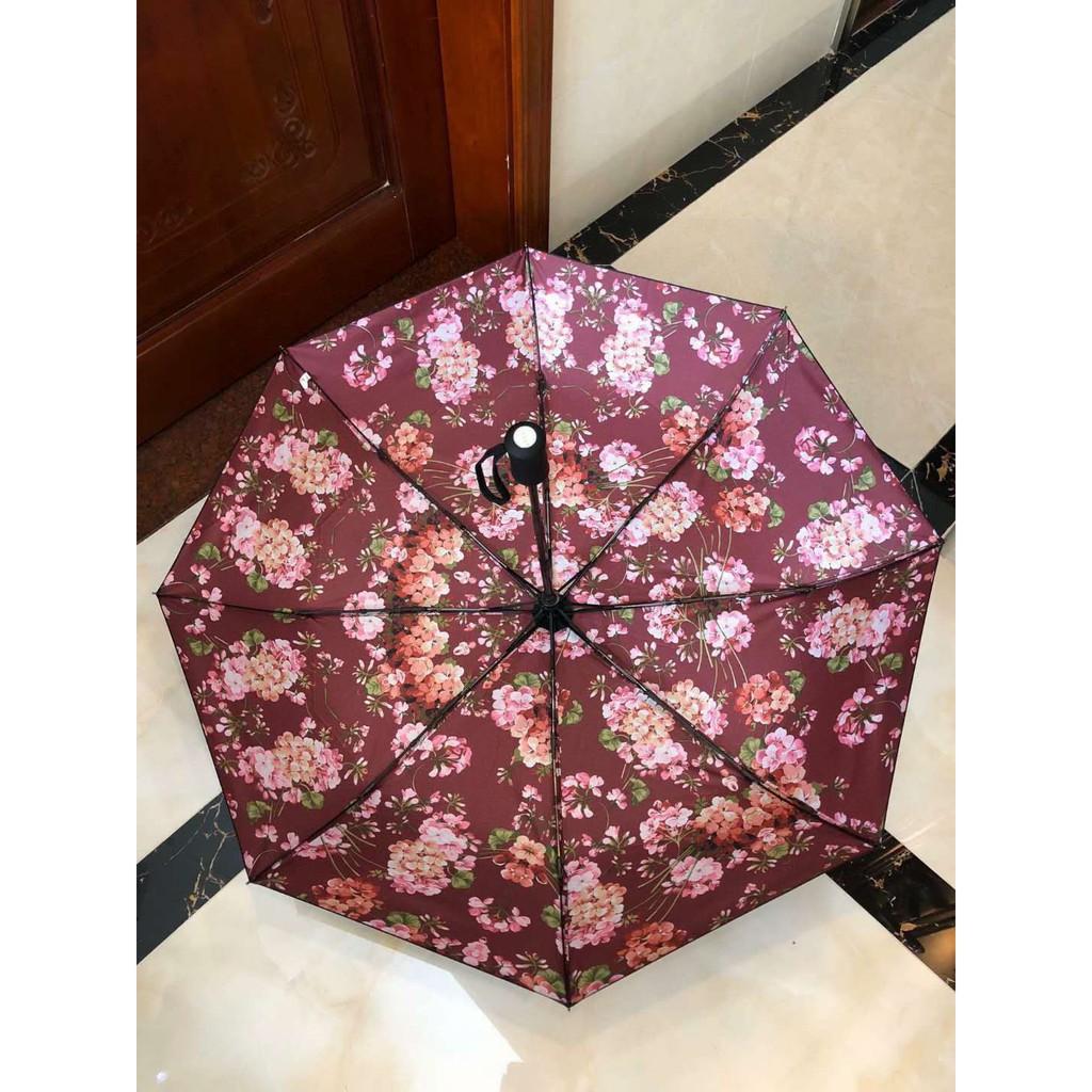 20環球代購款Gucci 全自動折疊雨傘 奇幻叢林圖案雨傘 防紫外線 防曬雨傘 折疊傘 遮陽傘 晴雨傘 陽傘 男女款雨傘
