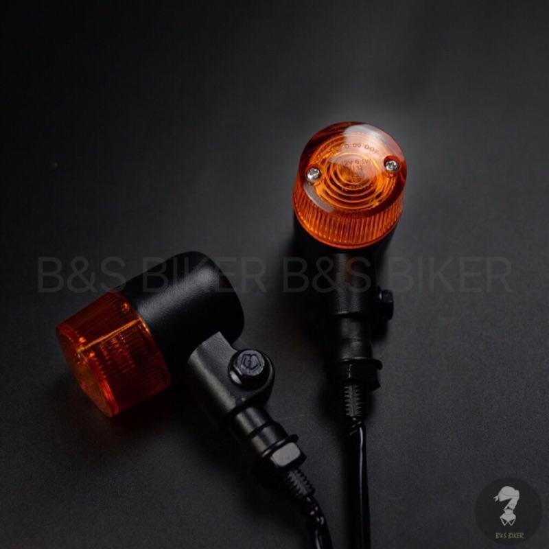 [B&S] 杯型方向燈 復古方向燈 SR400 柵欄 My150 野狼 雲豹 愛將 金旺 BJ250 方向燈 KTR