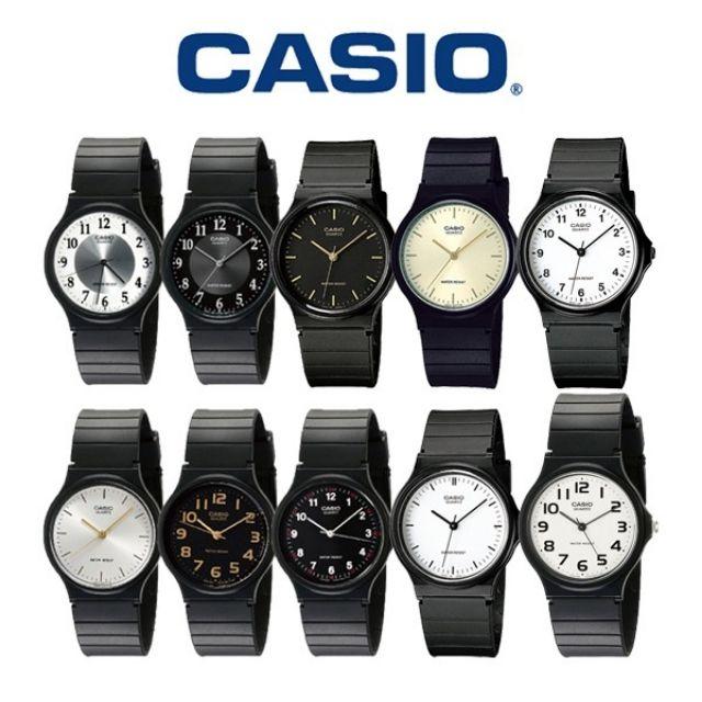 CASIO手錶 超薄MQ-24系列 簡約時尚 數字錶 考試錶 卡西歐經典款 日本機芯 指針式 石英錶 防水